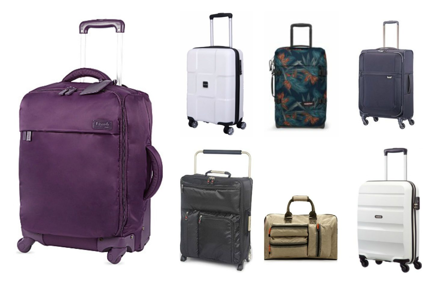 7 Best Lightweight Cabin Luggage Carry On Suitcases