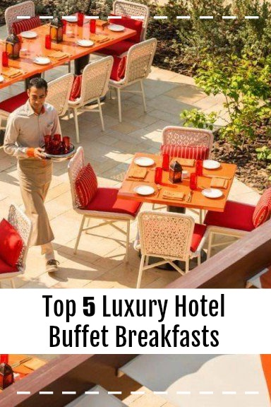 So many hotels get buffet breakfasts wrong, but these five hotels get it SO RIGHT. From ice-cream bars to dim sum, freshly made omelettes, and juice bars. These hotels have the best buffet breakfasts you will ever have!