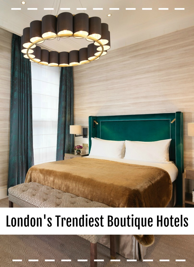 London's 7 Trendiest Boutique Hotels! These 7 luxe hotels will ensure you have a perfect and comfortable stay in England's Capital city. With unique personalities and beautiful interior design, they'll give you a more interesting stay in London rather than the usual bland business chain hotels.