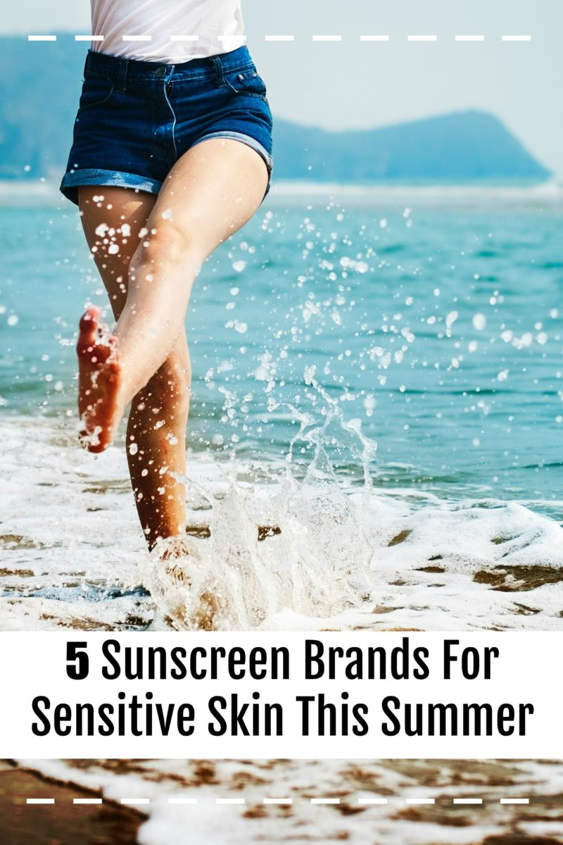 Top 5 sunscreen brands for sensitive skin this summer